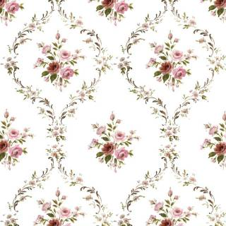 Papel de Parede Rosas Pequenas | Adesivo Vinílico