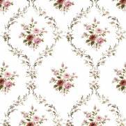imagem do Papel de Parede Rosas Pequenas | Adesivo Vinílico
