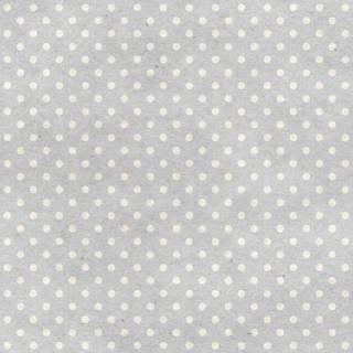 Papel de Parede Adesivo Poá cinza e branco/Rolo