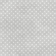imagem do Papel de Parede Adesivo Poá cinza e branco/Rolo