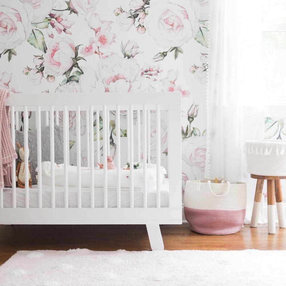 Papel de Parede Rosa Bebê | Adesivo Vinílico  imagem 2