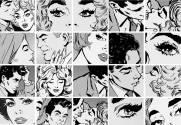 imagem do Painel Fotográfico Quadrinhos de Pop Art/ m²