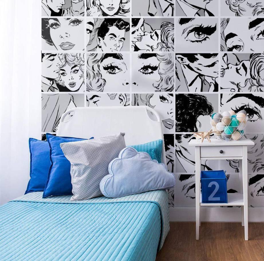Painel Fotográfico Quadrinhos de Pop Art/ m² imagem 2
