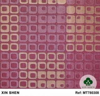Papel de Parede Texturizado cor Vinho MT780308