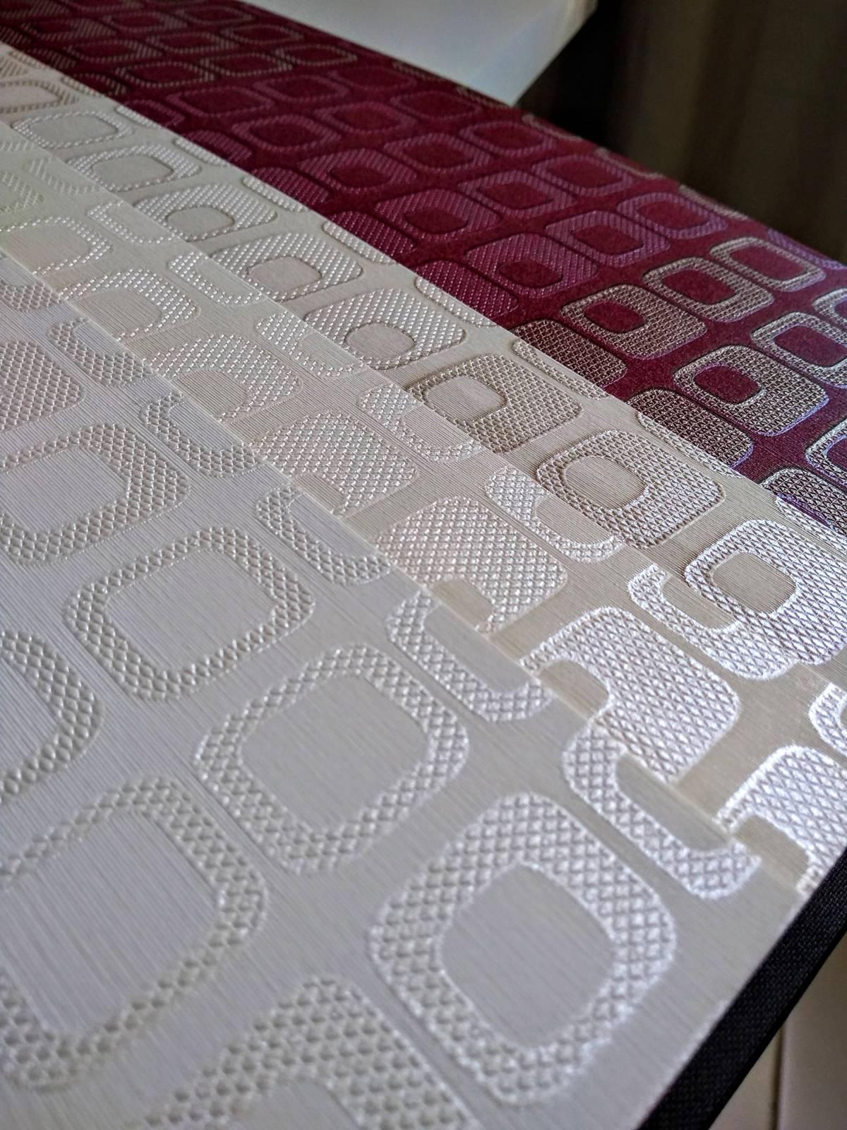 Papel de Parede Texturizado cor Vinho MT780308 imagem 2