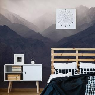 Painel Fotográfico Montanhas com Neblina / m²
