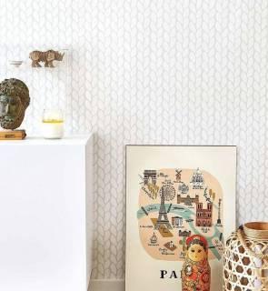 Papel de Parede Crochê | Adesivo Vinilico