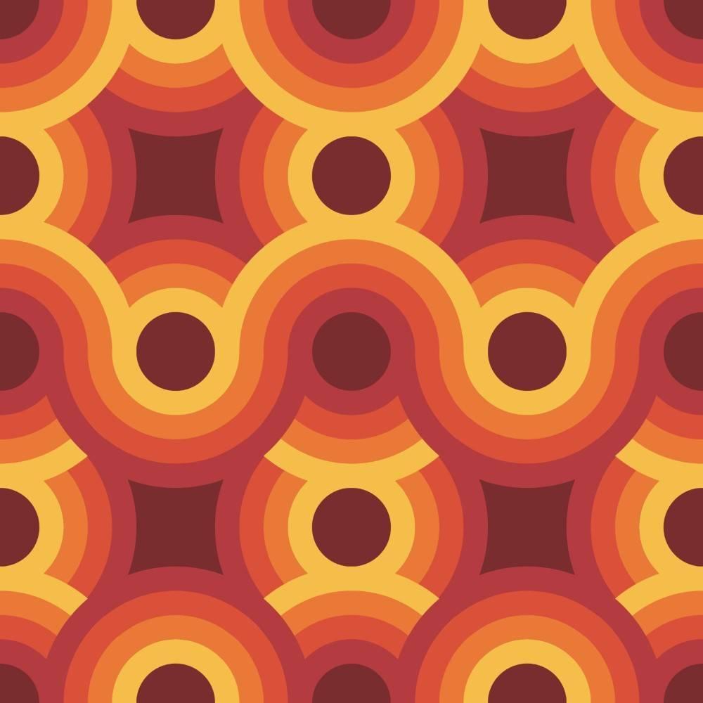 Papel de Parede Adesivo colorido imagem 2