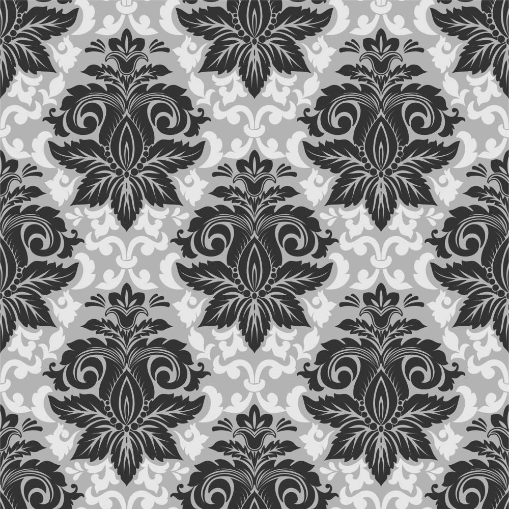 Papel de Parede Adesivo Preto e Branco imagem 2