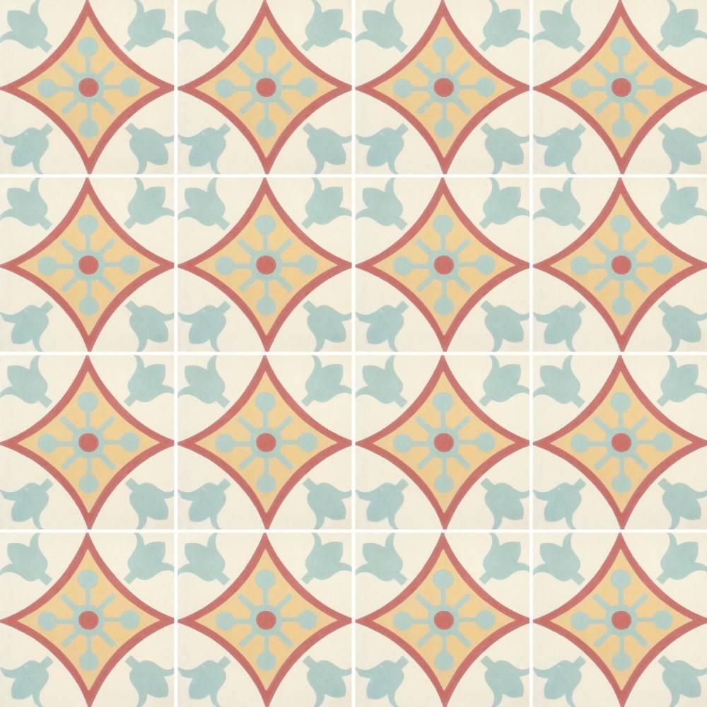 Papel de Parede Adesivo Azulejo anos 70 imagem 2