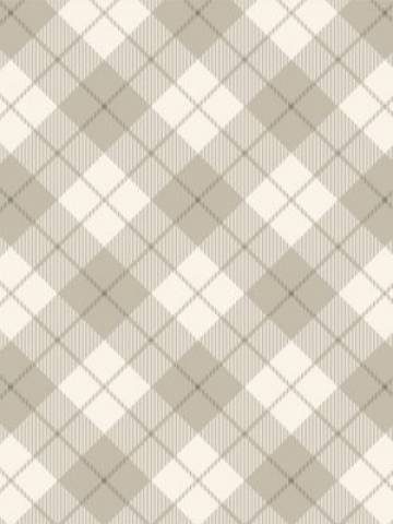 Papel de Parede Xadrez Bege | Adesivo Vinilico imagem 2
