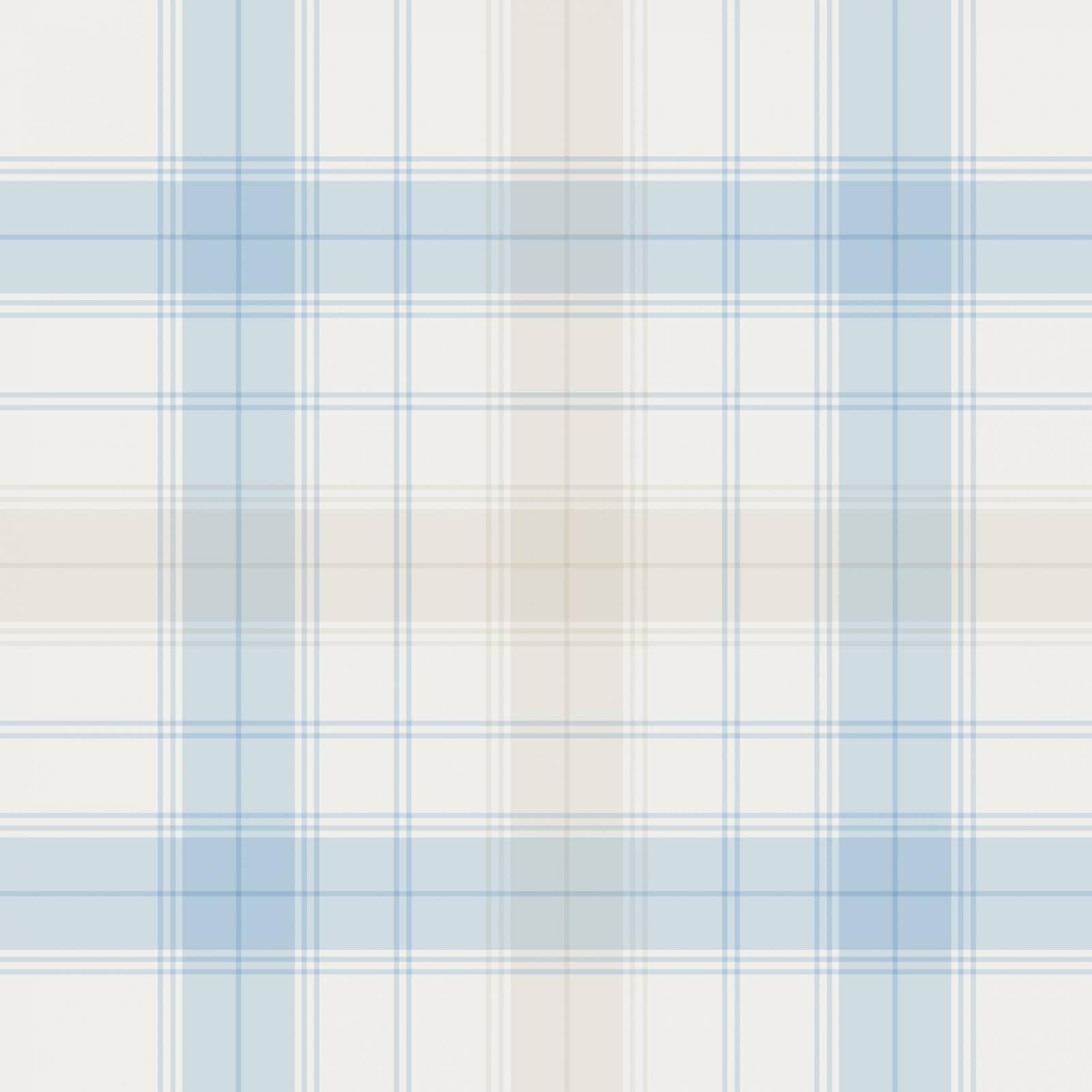 Papel de Parede Xadrez Azul e Bege Claro | Adesivo Vinilico imagem 2