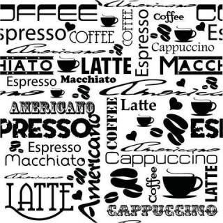 Papel de Parede Café | Adesivo Vinilico