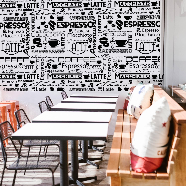 Papel de Parede Café | Adesivo Vinilico imagem 2