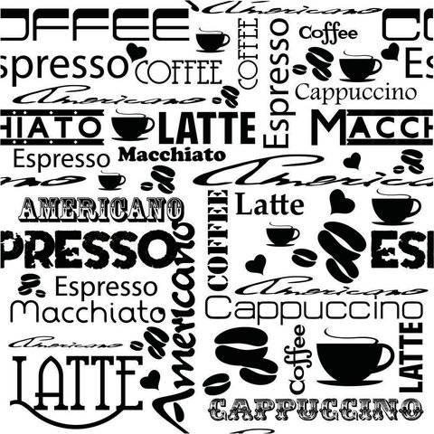 Papel de Parede Café | Adesivo Vinilico imagem 1