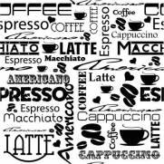 imagem do Papel de Parede Café | Adesivo Vinilico