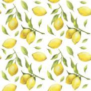 imagem do Papel de Parede Limão Siciliano   Adesivo Vinilico