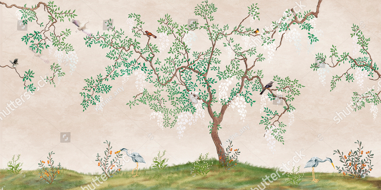 Painel Árvore Japonesa   M² imagem 3