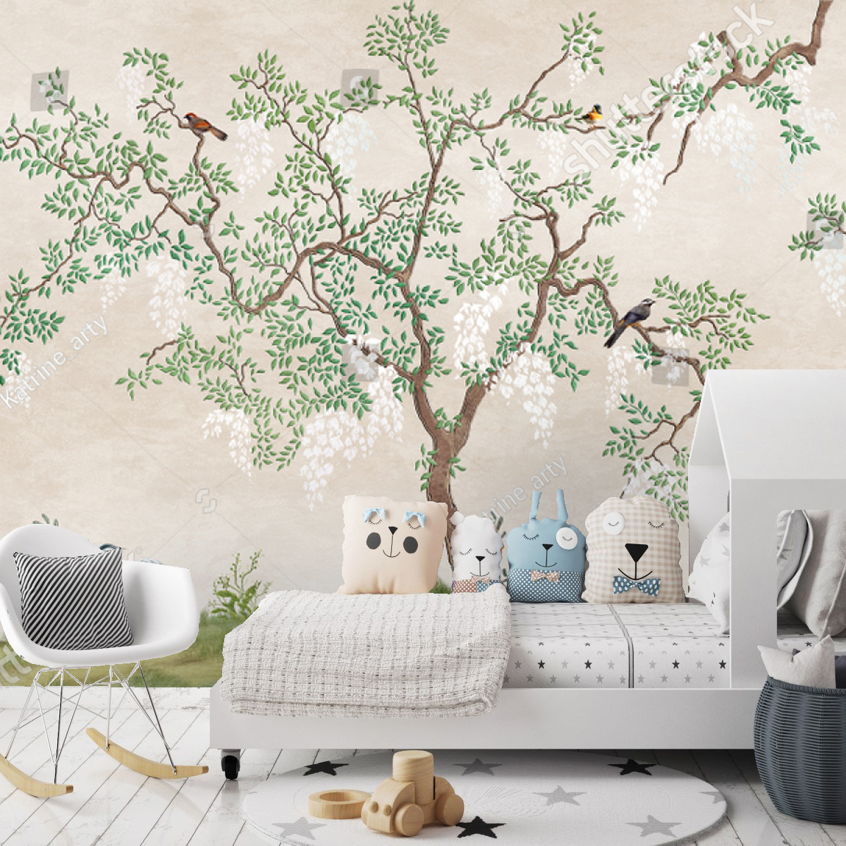 Painel Árvore Japonesa   M² imagem 1