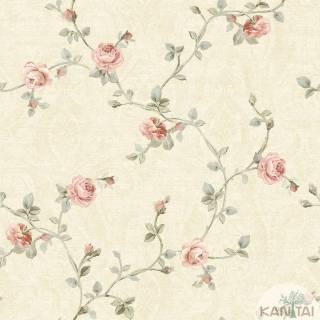 Papel de Parede Vinílico kantai Floral 2