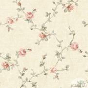 imagem do Papel de Parede Vinílico kantai Floral 2