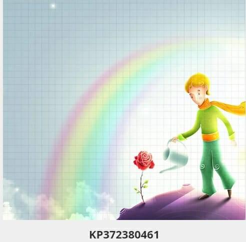 Painel Fotogràfico Pequeno Príncipe Vinílico kantai  imagem 1