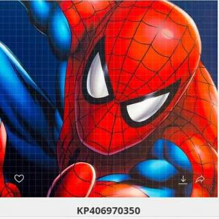 Painel Fotográfico Homen Aranha Vinílico kantai