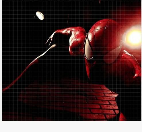 Painel Fotográfico Homen Aranha 2 Vinílico kantai  imagem 1