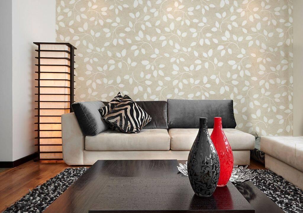 Papel de Parede Adesivo Floral/Rolo  imagem 3