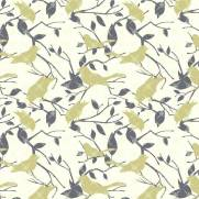 imagem do Papel de Parede Adesivo Floral/Rolo