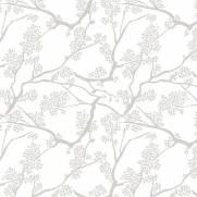 imagem do Papel de Parede Adesivo Floral