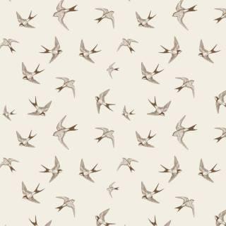 Papel de Parede Adesivo Brown Birds /Rolo