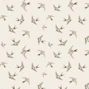 imagem do Papel de Parede Adesivo Brown Birds /Rolo