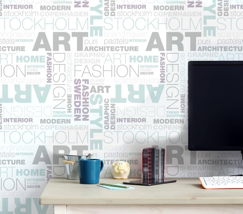Papel de Parede Design | Adesivo Vinilico imagem 3
