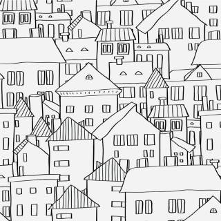 Papel de Parede Adesivo City Feelings /Rolo