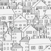 imagem do Papel de Parede Adesivo City Feelings /Rolo