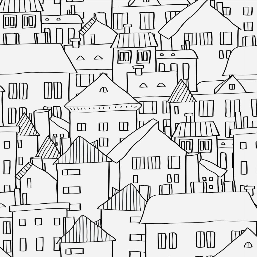 Papel de Parede Adesivo City Feelings /Rolo imagem 1