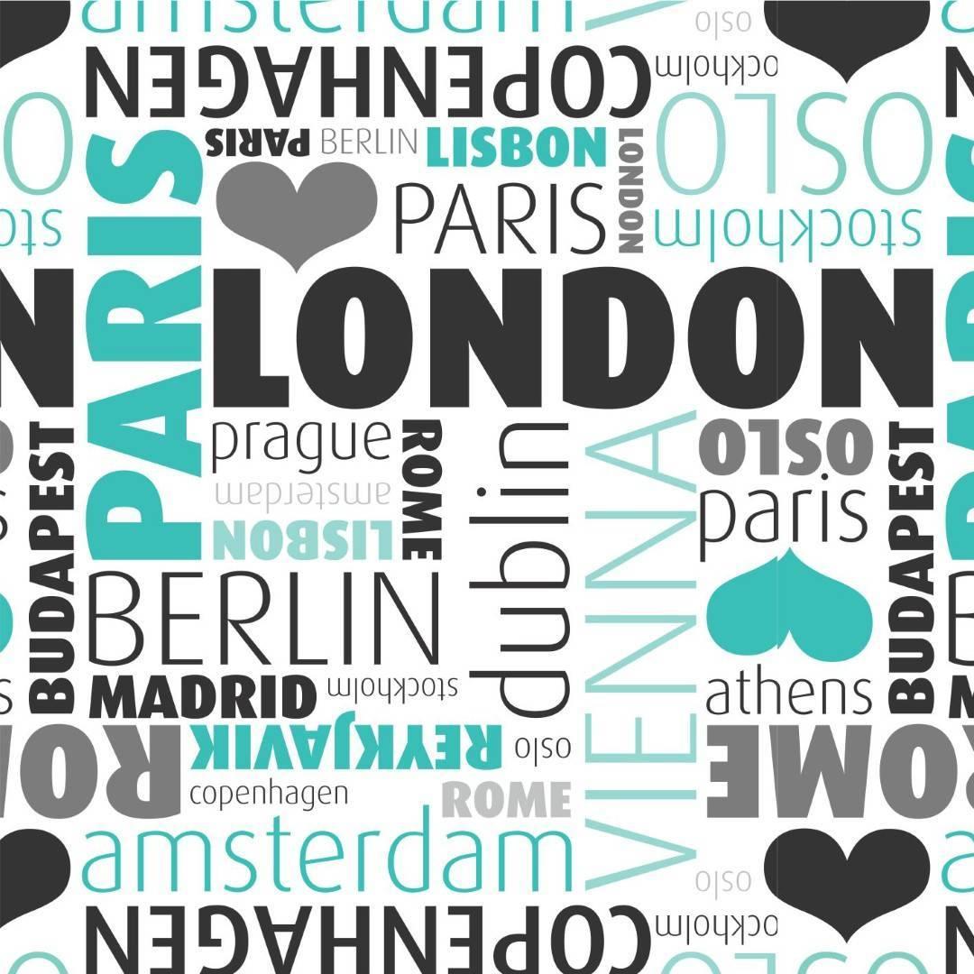 Papel de Parede Europe Cities/Rolo   imagem 1