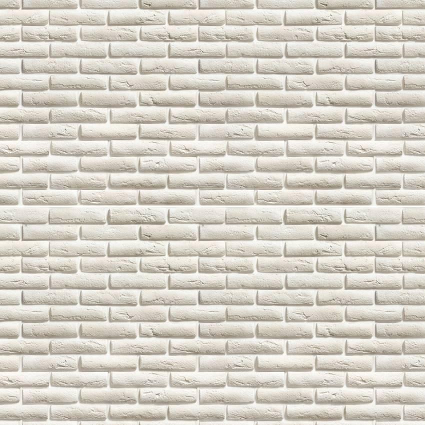 Papel de Parede Tijolo Branco | Adesivo Vinilico imagem 2