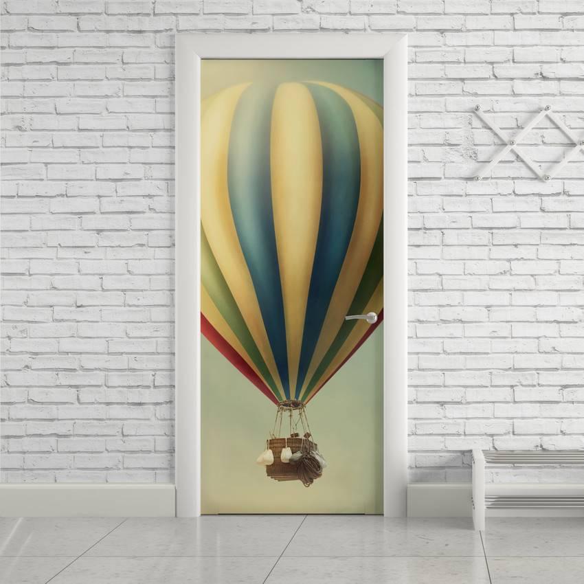 Adesivo Para Porta Balão imagem 1