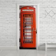 imagem do Adesivo Para Porta Cabine Telefônica Londres