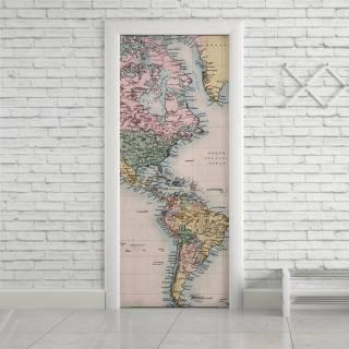 Adesivo Para Porta Mapa