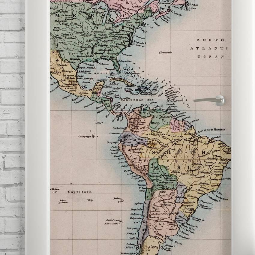 Adesivo Para Porta Mapa imagem 2