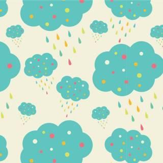 Papel de Parede Nuvens Azul | Adesivo Vinilico