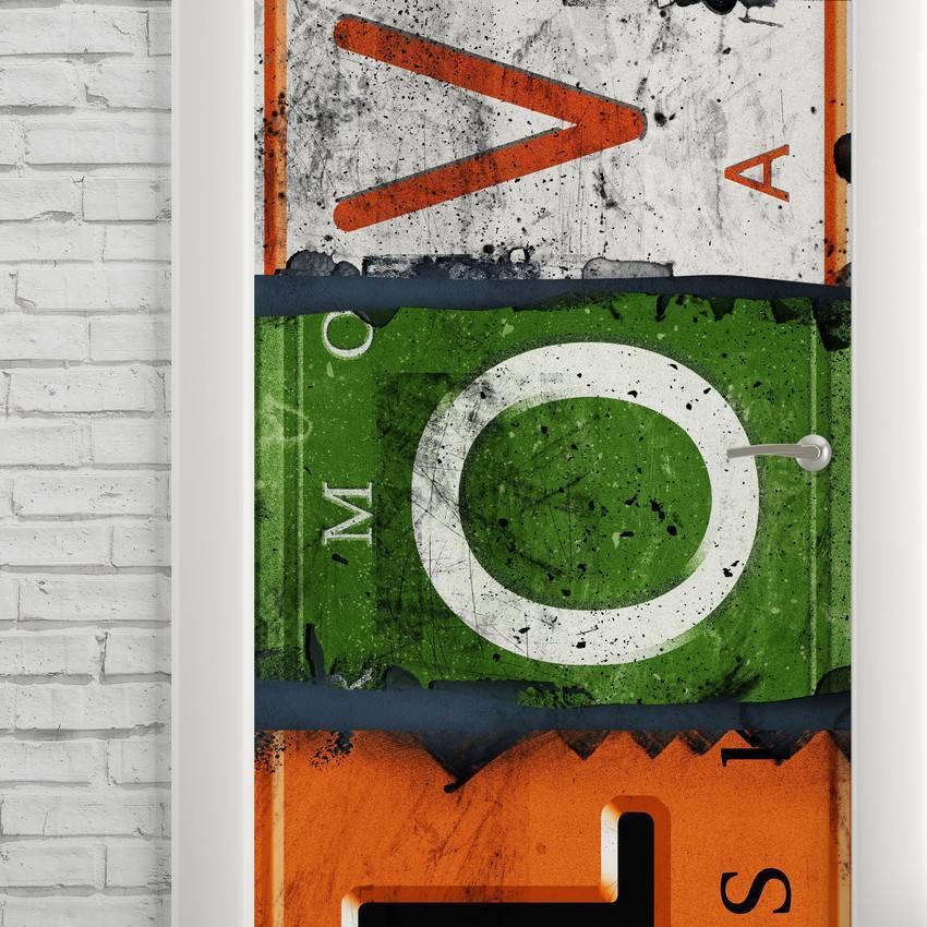 Adesivo Para Porta Love imagem 2