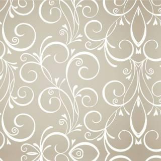 Papel de Parede Arabesco Floral | Adesivo Vinilico