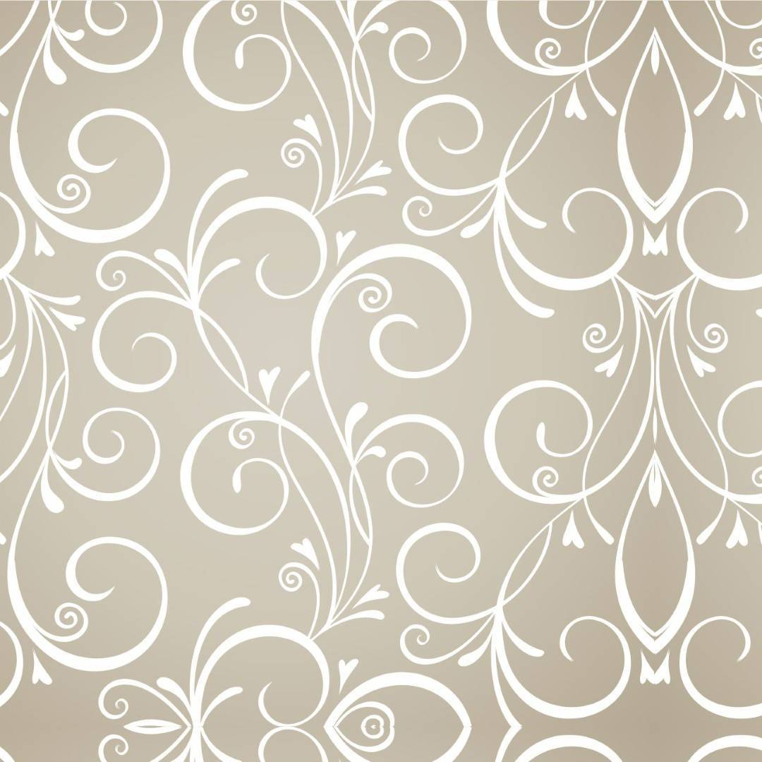 Papel de Parede Arabesco Floral | Adesivo Vinilico imagem 1