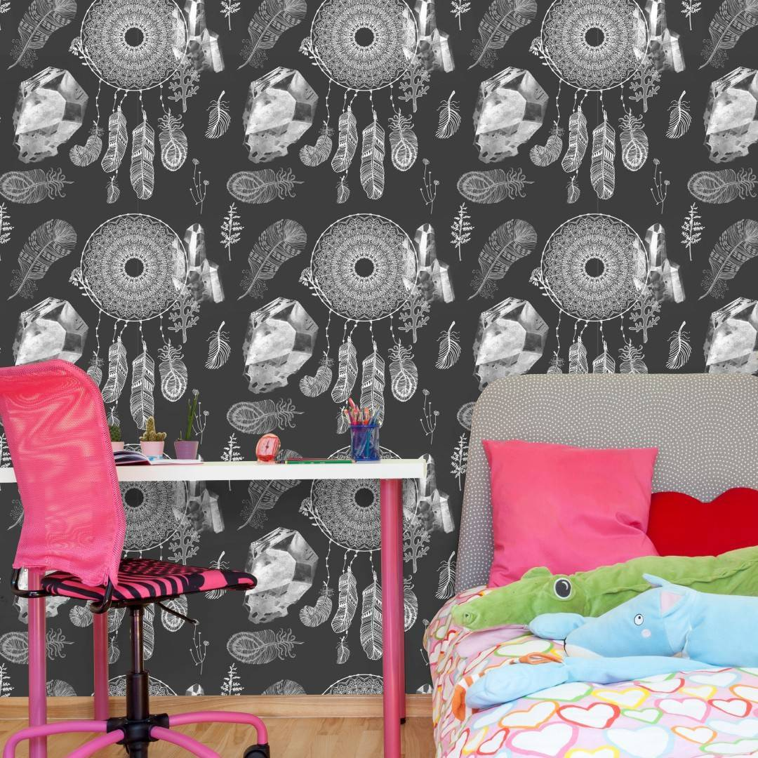 Papel de Parede Adesivo Filtro dos Sonhos /Rolo imagem 4
