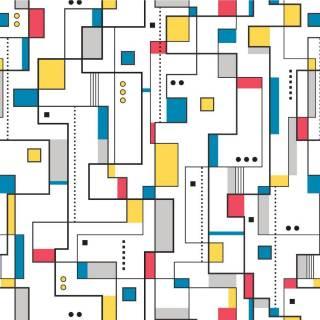 Papel de Parede Adesivo Mosaico Teen /Rolo