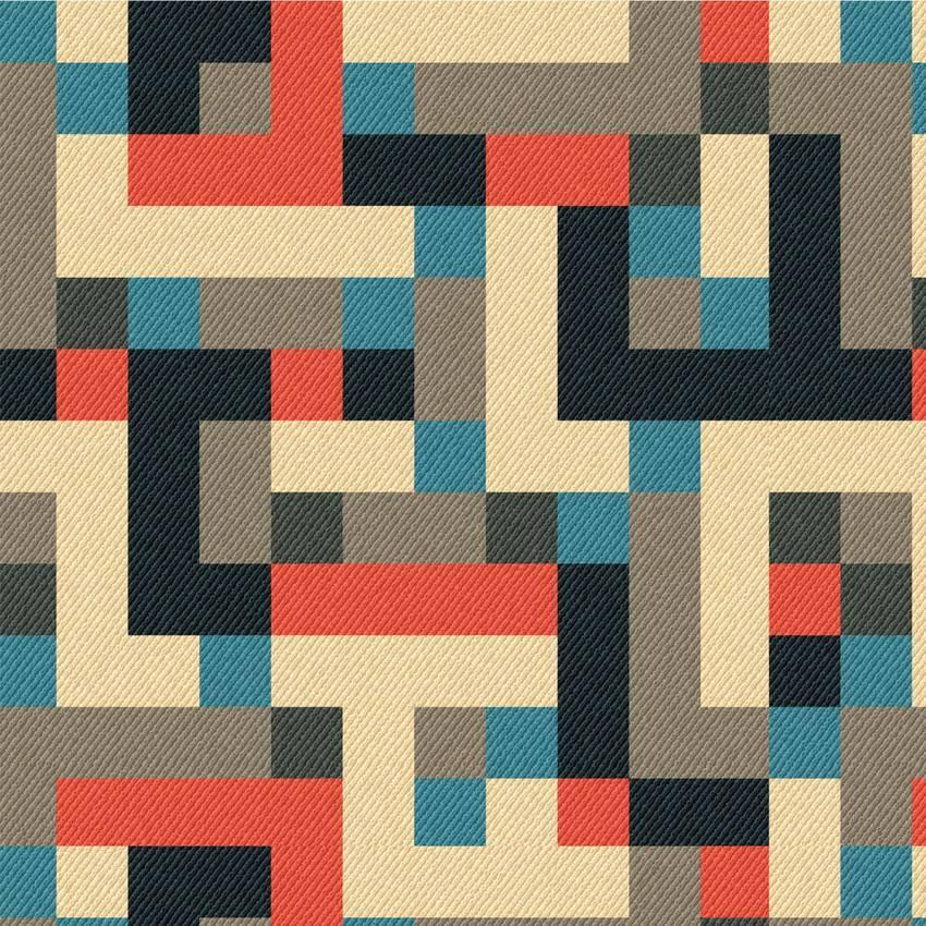 Papel de Parede Geometrico 3D | Adesivo Vinilico imagem 1